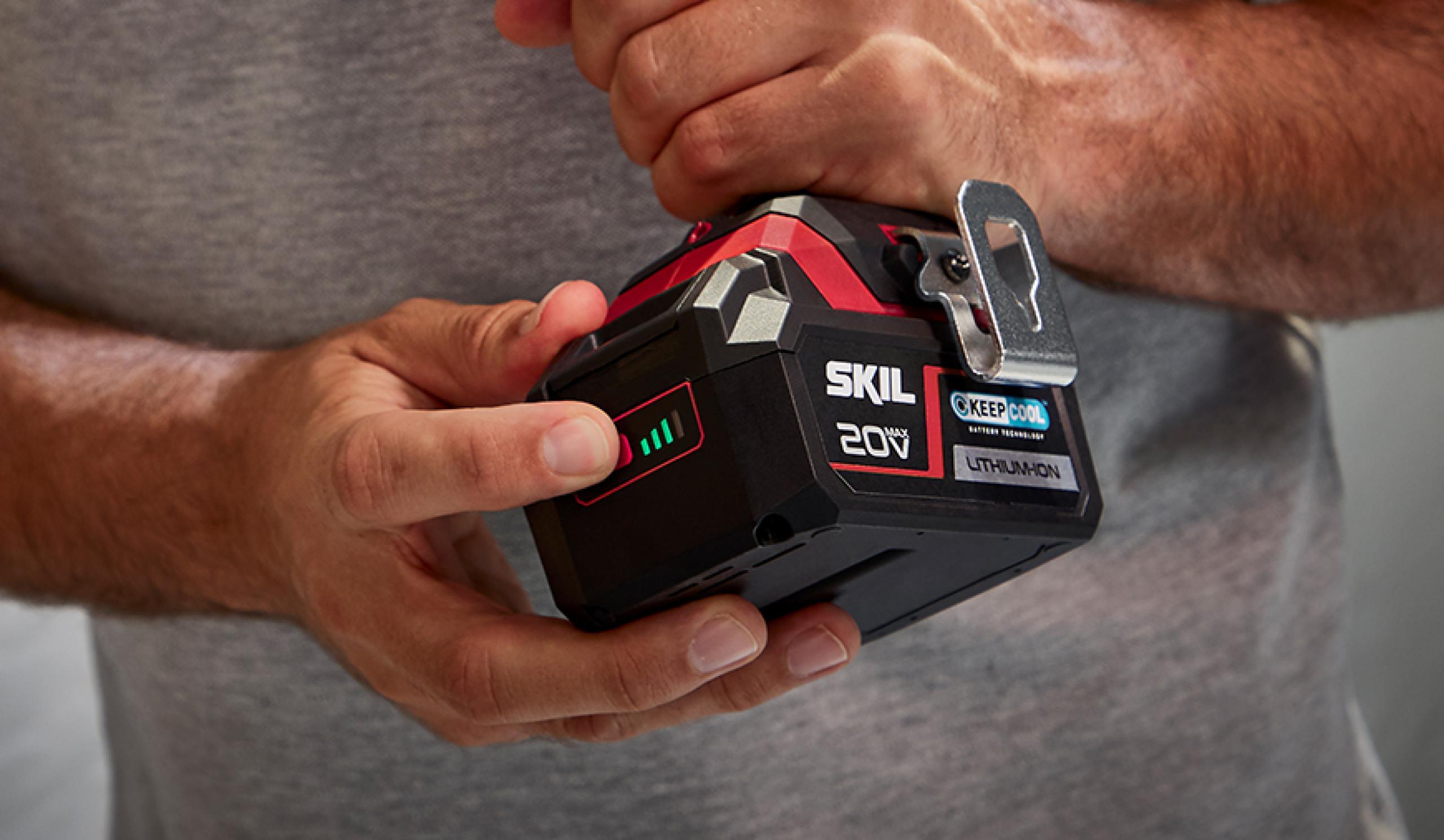 Πατενταρισμένη ένδειξη φόρτισης της μπαταρίας που μπορείτε να εμπιστευτείτε