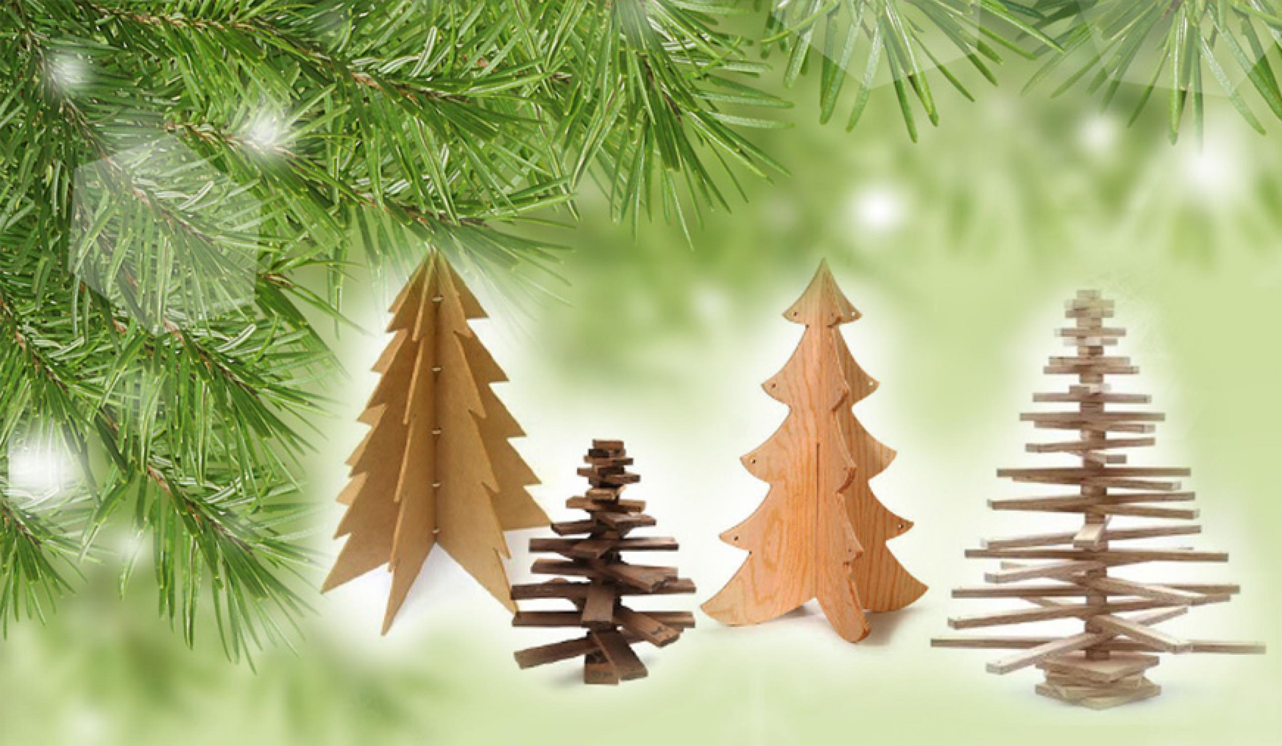 Πώς να φτιάξετε ένα ξύλινο χριστουγεννιάτικο δέντρο
