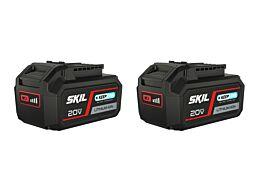 SKIL 3105 BA Μπαταρία '20V Max' (18V) 5,0Ah 'Keep Cool™' Li-Ion (2x)