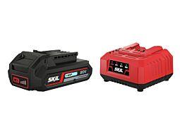 SKIL 3110 AA Μπαταρία ('20V Max' (18 V) 2,5 Ah 'Keep Cool' Li-Ion) και φορτιστής