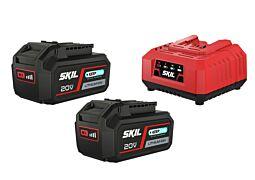 SKIL 3112 BA Μπαταρίες ('20V Max' (18V) 4,0Ah 'Keep Cool™' Li-Ion) και φορτιστή