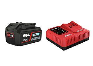 SKIL 3111 AA Μπαταρία ('20V Max' (18 V) 4,0 Ah 'Keep Cool' Li-Ion) και φορτιστής 'Rapid'